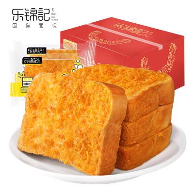 新品【樂錦記肉絲吐司面包】糕點營養早餐辦公室休閑零食下午茶700g整箱