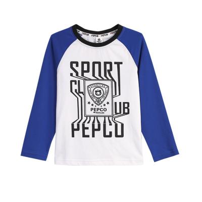 小猪班纳童装男童长袖T恤2019男童T恤儿童圆领长袖衫