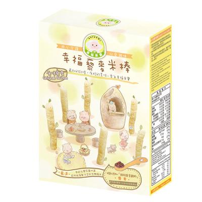 Naturmi幸福米寶 嬰幼兒輔食 幸福原味藜麥米棒 磨牙棒 40克/盒