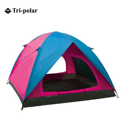 三極戶外(Tripolar) TP1112 帳篷野營雙層雙門戶外撞色沙灘郊游露宿手動搭建多用帳篷