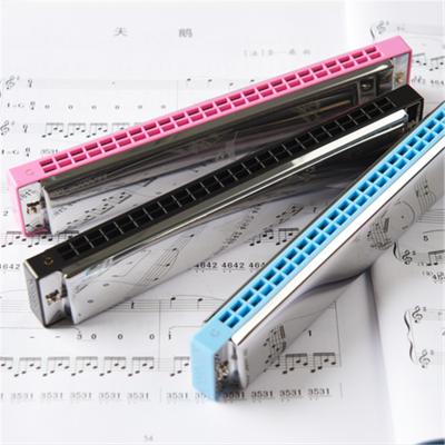天鵝(Tian E)復音口琴24孔C調初學者自學零基礎口風琴專業成人兒童樂器