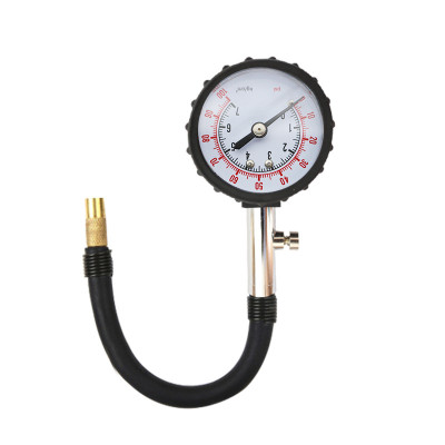 巨木汽車輪胎氣壓表胎壓表胎壓監測器多功能數顯高精度胎壓計放氣 高精度長管胎壓計