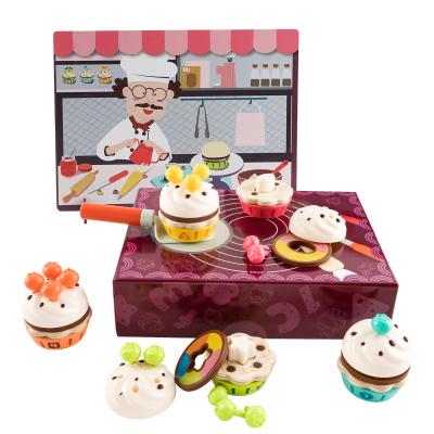 Topbright特寶兒仿真食物蛋糕數字認知過家家木質廚房游戲120449
