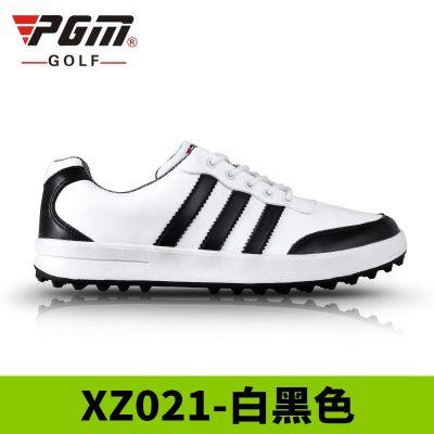 高爾夫球鞋 高爾夫男士運動鞋子 阿迪風休閑鞋