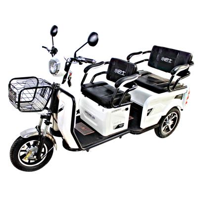 小巴士A9新款電動三輪車老人代步車成人家用接送孩子電瓶車助力