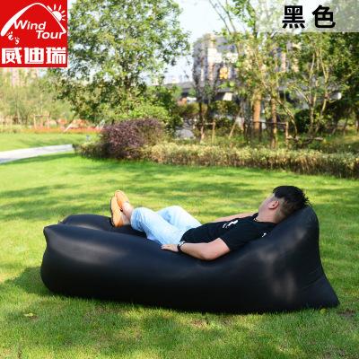 威迪瑞 戶外快速充氣床墊子懶人空氣沙發便攜外置充氣泵野外兜風式可折疊空氣袋沙發