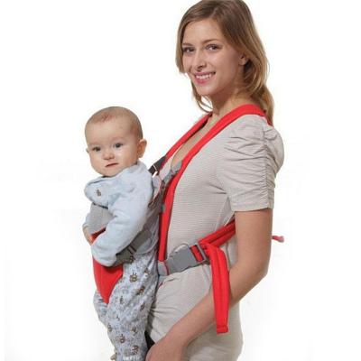 多功能宝宝抱袋双肩婴儿背带小孩宝宝无腰凳前抱式抱袋背袋 衫伊格(shanyige)
