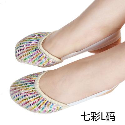 善然堂新肚皮舞鞋子软底新款前脚掌护脚套芭蕾舞体操舞蹈练功脚套
