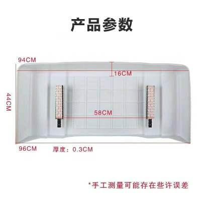 幫客材配 家用空調外機保護罩防雨防曬蓋加厚(10套)