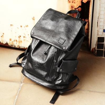 (VENTIGA)梵蒂加男包背包DSLQ-1008雙肩包-31號男士包包包PU皮包時尚潮流旅行包休閑包大學生書包