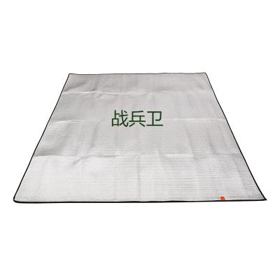 戰兵衛戶外野營防潮墊 加大加厚雙面鋁膜防潮墊 野餐墊 地席