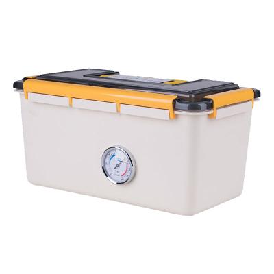 卡赛(KAssA)KS-217 单反相机防潮箱/镜头收纳箱/干燥箱 卡扣式简易锁 带吸湿卡 白色