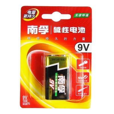 南孚碱性电池 9v1粒装 6LR61-1B/9V