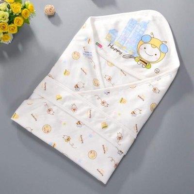 嬰兒抱被春夏季出生兒抱被寶寶春夏薄款包巾嬰童無夾棉襁褓包被90*90cm