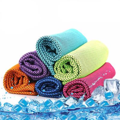 VEACOW冷感運動冰手帕防暑吸汗冰戶外健身