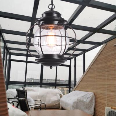 玻璃棚陽光房閃電客專用燈飾美式創意led燈具中式戶外涼亭照明亭子吊燈