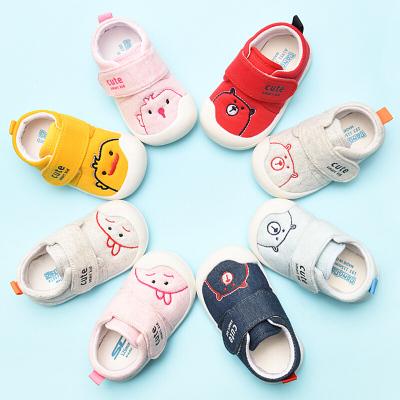 學步鞋女寶寶春秋季0一1-3歲軟底防滑嬰兒鞋布鞋不鞋男寶寶鞋子