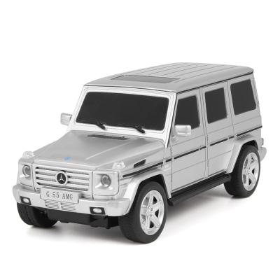 美致模型(MZ) ??爻?正版授权奔驰G55车 1:24 玩具男孩汽车 银色 27029