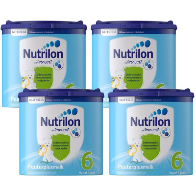 牛栏(Nutrilon) 荷兰原装进口 荷兰牛栏诺优能Nutrilon婴幼儿配方奶粉 保税仓发货 6段 4罐