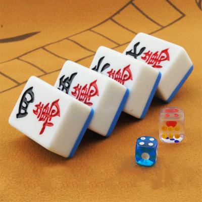 家用麻将牌手搓中大号闪电客四川手打麻将牌密胺材质送桌布53*38*26