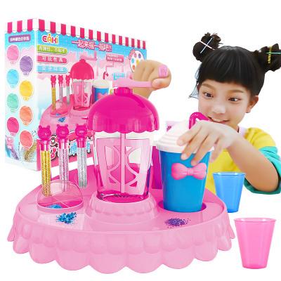 亿奇心奇魔法摇摇乐彩泥新奇粘土黏土女孩手工DIY益智儿童玩具