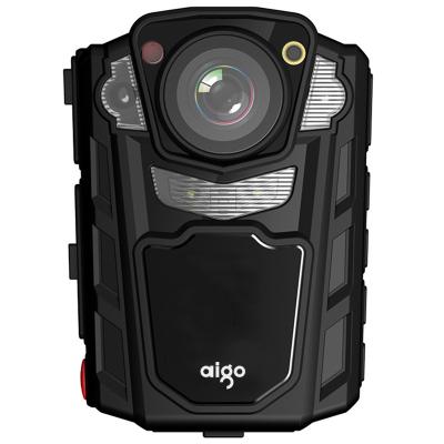 愛國者(aigo)DSJ-R2 執法記錄儀 紅外夜視1080P便攜加密激光定位錄音錄像拍照對講32G 可外接攝像頭