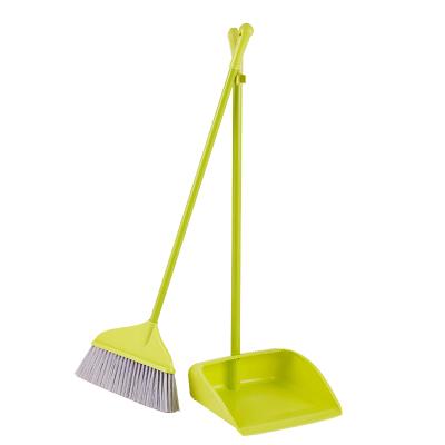 規格【軟毛掃把簸箕套裝 2套裝】塑料軟毛掃把簸箕套裝辦公室掃帚組合掃地 垃圾鏟 學校單位必備清潔工具 工廠必選工具