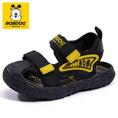 BOBDOG HOUSE巴布豆夏季兒童涼鞋包頭機能男童女童軟底寶寶鞋子B8662