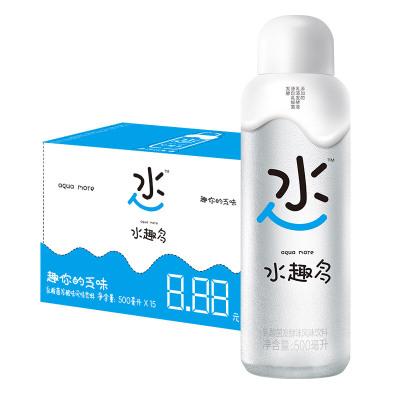 统一(GS) 水趣多 乳酸菌发酵 风味饮料 500ml*15瓶 整箱装