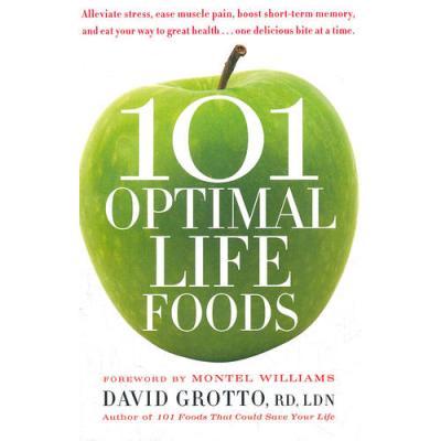 101 OPTIMAL LIFE FOODS(ISBN=9780553386264) 英文原版