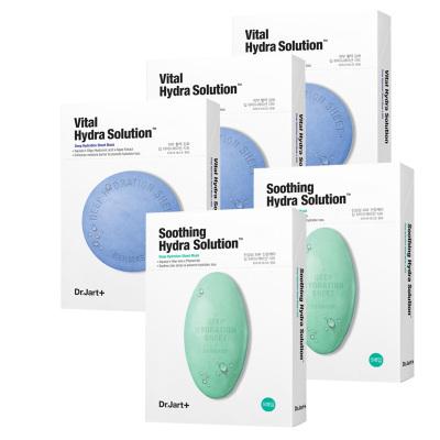 蒂佳婷藥丸面貼膜5片/盒,藍/3盒+綠/2盒
