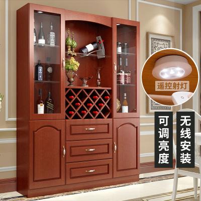 夢引歐式酒柜裝飾柜定制客廳餐邊柜簡約現代隔斷柜玄關柜餐廳酒柜C-55