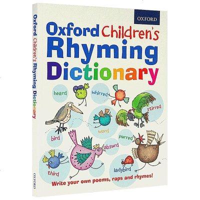 正版英文原版兒童詞典字典 Oxford Children's Rhyming Dictionary 英文版原版 牛津