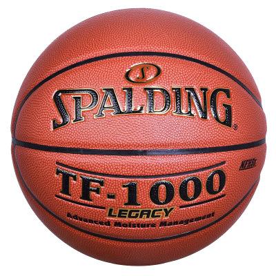 斯伯?。⊿PALDING)籃球 74-716A/TF-1000 傳奇比賽系列PU材質七號籃球(標準男子比賽用球)室外籃球