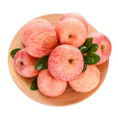 红富士苹果带箱10斤净重9斤果径75-85mm 新鲜水果