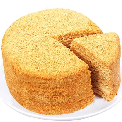 斯戈夫SAMKOND俄羅斯進口休閑食品提拉米蘇蛋糕點心500g原味 配一次性使用切刀