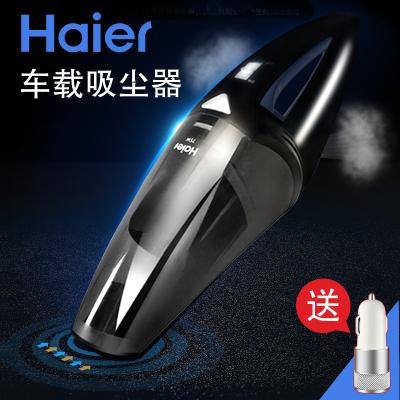 海尔(Haier )车载吸尘器 便携式汽车 车用吸尘器 家用车用大功率 吸尘器标配+家用转换器