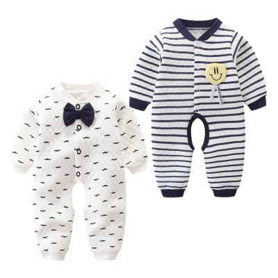 搭啵兔婴儿连体衣服儿爬服春秋.夹棉0宝宝哈衣秋冬3保暖6个月12