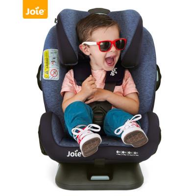 巧兒宜(JOIE) 兒童嬰兒安全座椅isofix硬接口0-12歲雙向安裝 安全守護神 C1602-A 藍色