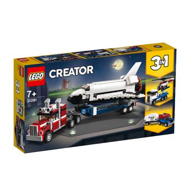 LEGO 乐高 Creator创意百变系列 航天飞机运输车31091