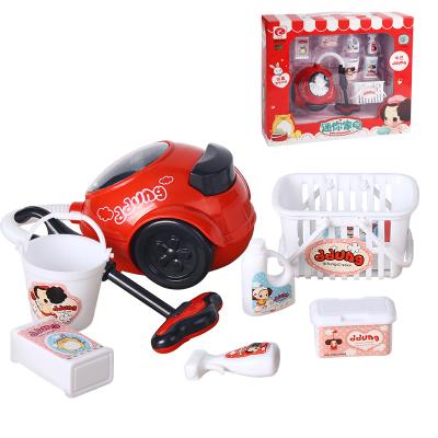 男孩女孩冬己过家家厨房玩具小家电吸尘器款