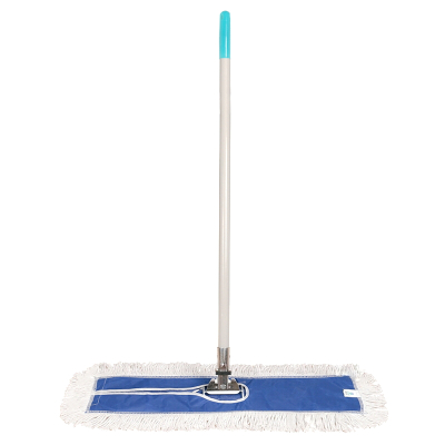 工霸(GONGBA)不锈钢杆平板拖把 尘推排拖拖布 精品加厚米黄 40CM