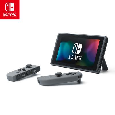 【套餐】任天堂Nintendo Switch游戲機配灰色Joy-Con+奧德賽游戲兌換卡