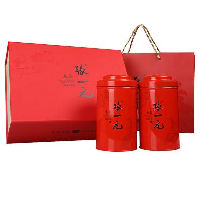 张一元 特级茉莉花茶龙毫礼盒200g/盒 绿茶茶叶 中国红大气 送礼之选