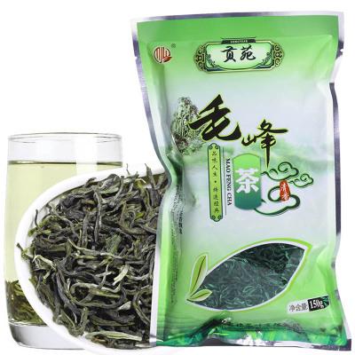 贡苑 茶叶 毛峰茶 黄山绿茶 袋装 150g/袋 黄山绿茶
