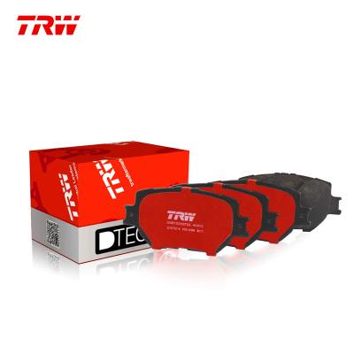 天合(TRW)前剎車片.陶瓷GDB3592DT適用于14-16款昂克賽拉1.5L/2.0L