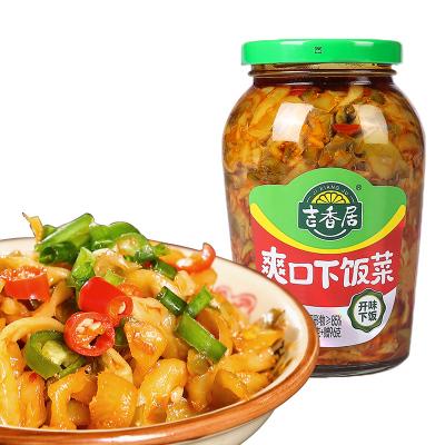 吉香居咸菜下飯粥泡菜開味下飯酸菜拌面小菜爽口下飯菜426g*1瓶