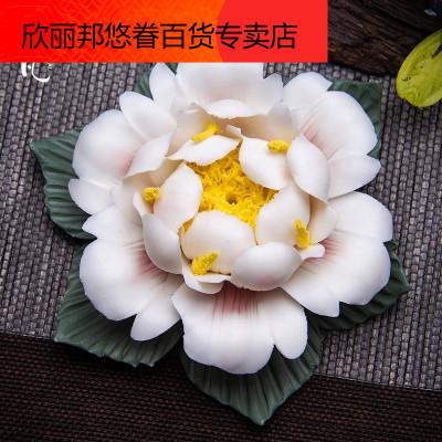 欣麗邦(xinlibang) 創意手工線香插 禪意點香器香座香托 陶瓷家用香薰爐茶道件