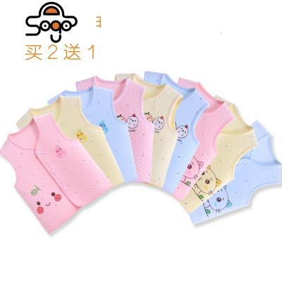 婴儿马甲夏天薄款宝宝背心0-3岁儿童马甲儿保暖坎肩上衣