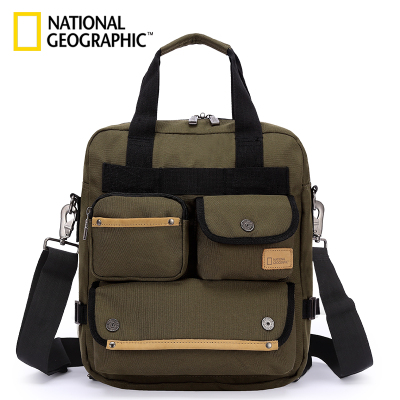NATIONAL GEOGRAPHIC國家地理紀念款 商務休閑雙肩書手提包單肩包電腦包潮